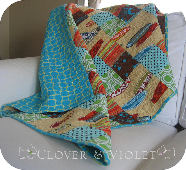 Take-Along Quilt {tutorial}