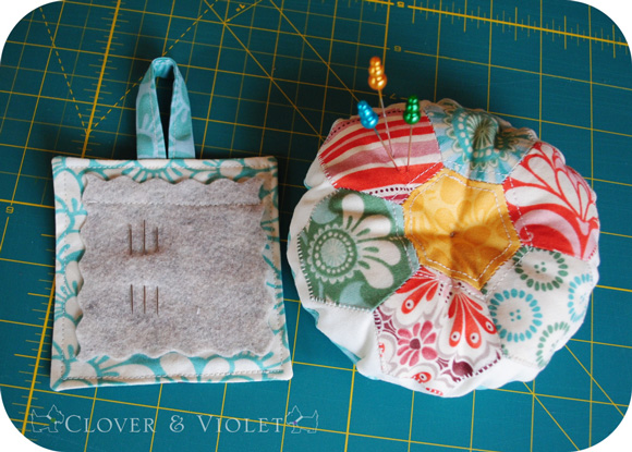 Hexie-Pincushion-and-Needle-Book