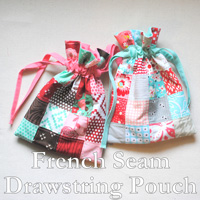 French-Seam-Drawstring-Pouch