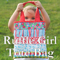 Ruffle-Girl-Tote-Bag