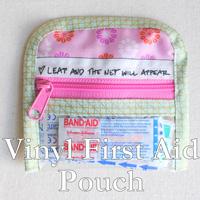 Vinyl-First-Aid-Pouch