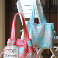 the Louisa bag {pdf sewing pattern}
