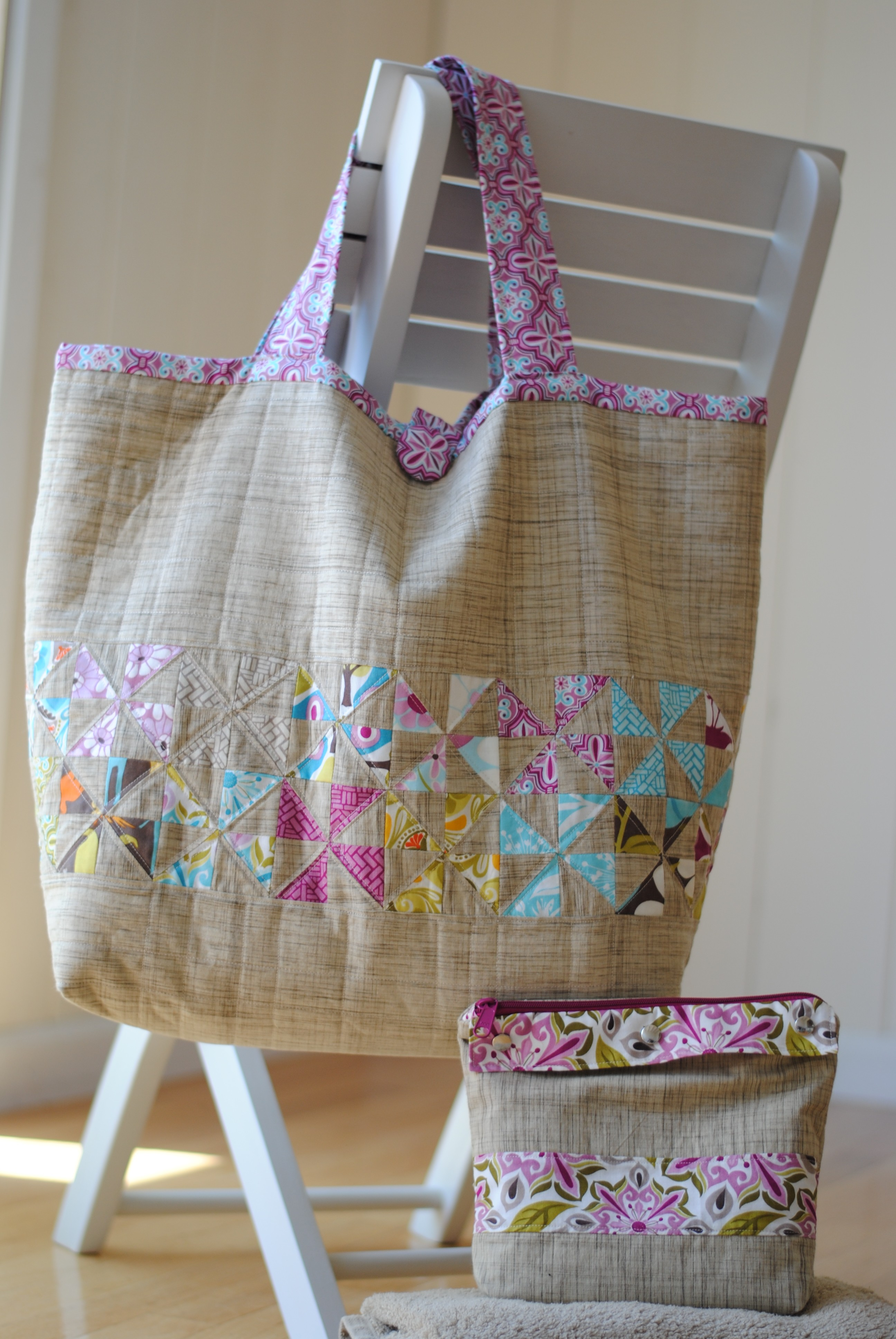 Clover & Violet — the Sophie beach bag