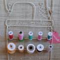 I Love Sewing Spool Rack