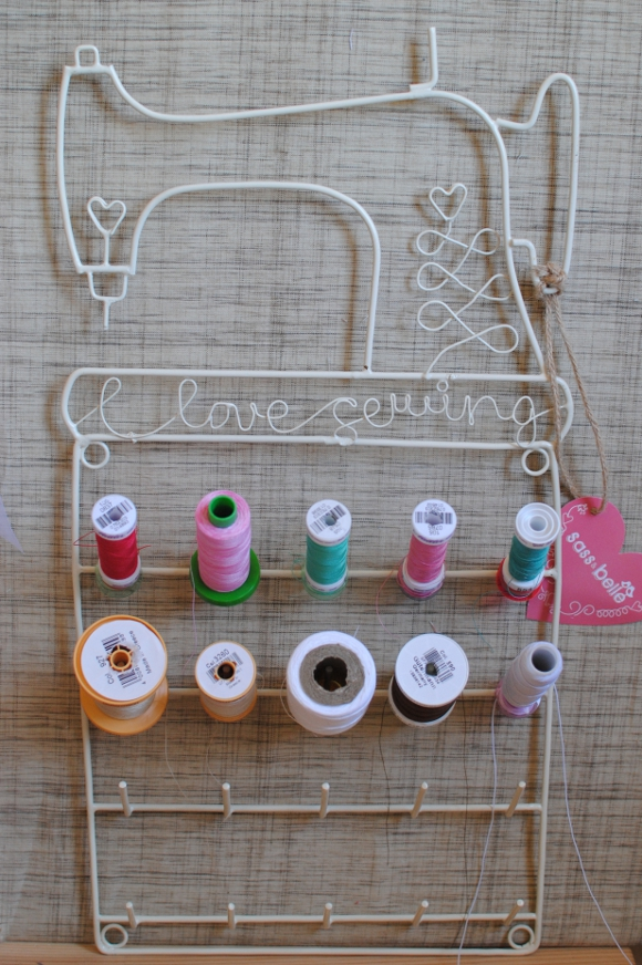 I Love Sewing Spool Rack