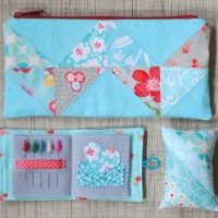 Pouch Needlebook and Pincushion