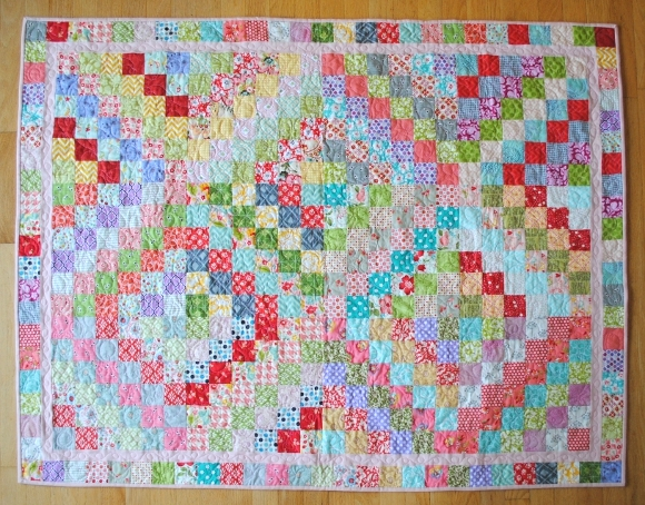 Scrappy Trip Along Bright Colours A Quilt Trip Around The World