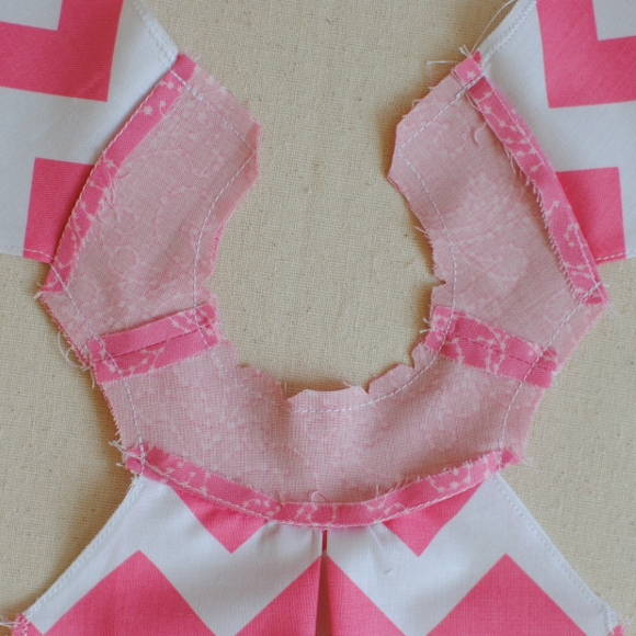 Stay Stitching Sewn On
