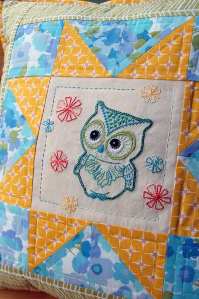Have a Hoot Owl Cushion