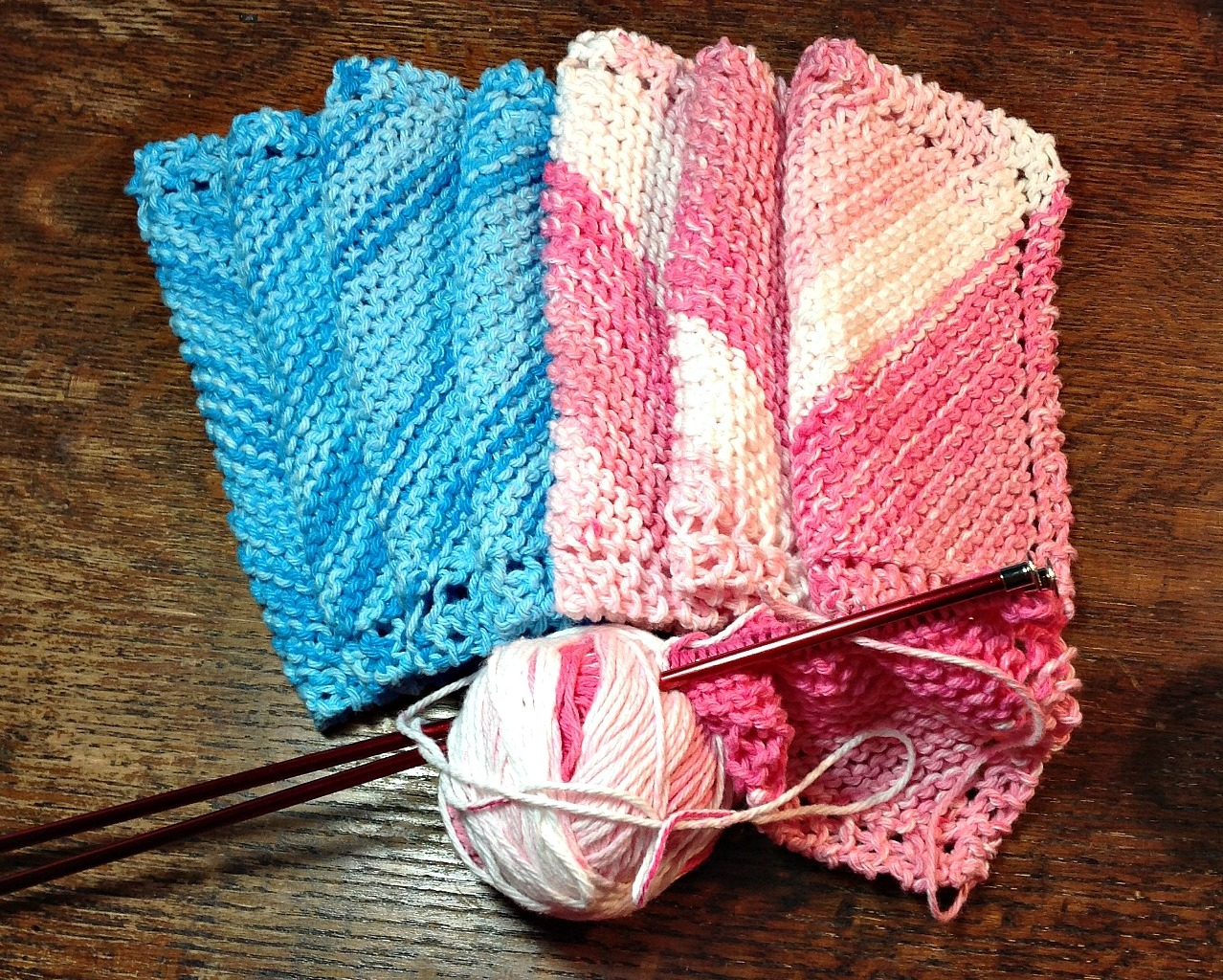 Jane's Fabric & Quilts – Knit Washcloths