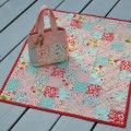 Quilt outside with bag