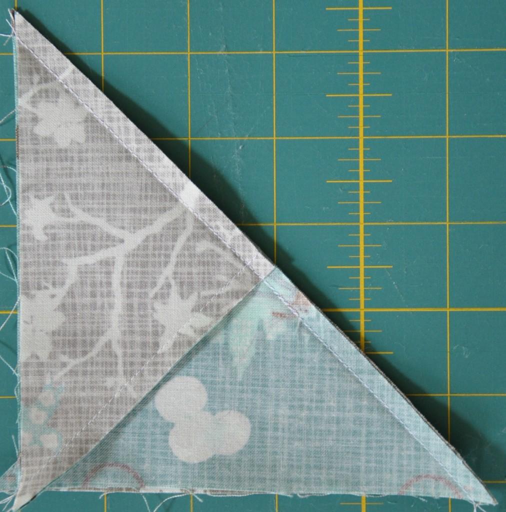 sewn half