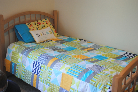 Bizzy Kid Quilt 1