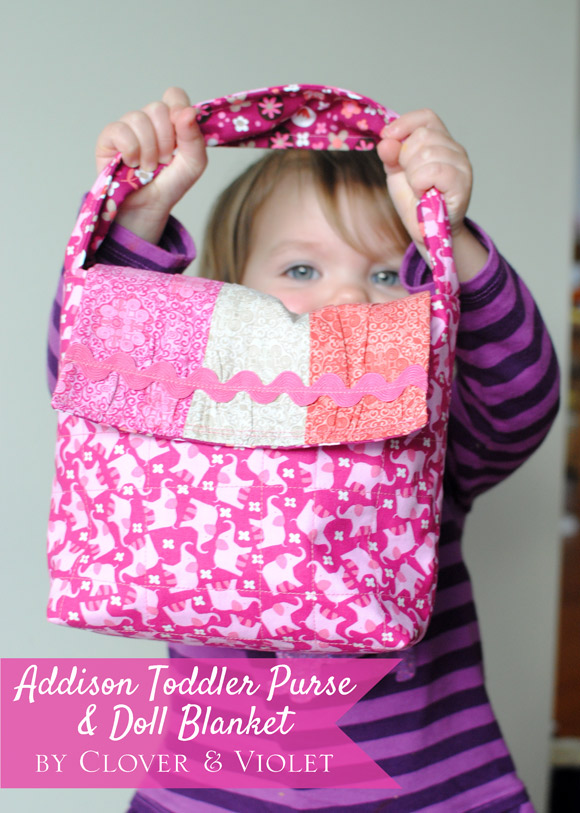 Addison Toddler Purse & Doll Blanket