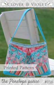Penelope Purse Printed