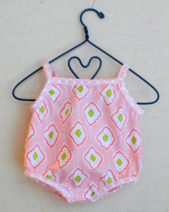 Baby Stella Onesie {Free Pattern Pieces}