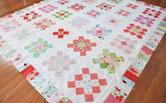 granny-square-quilt-top