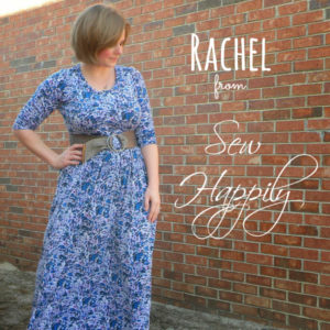 Rachel from Sew Happily