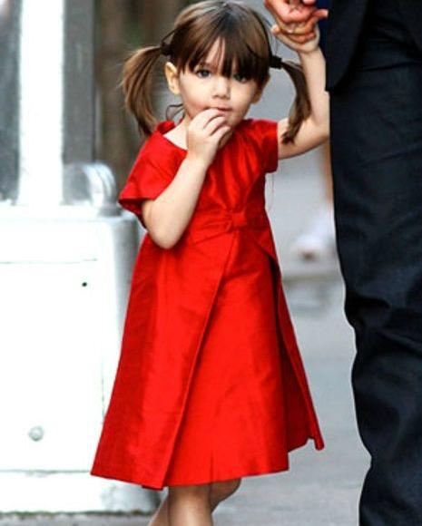 Suri Cruise Red Dress