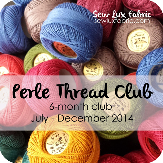 Summer is for Stitching {Perle Club at Sew Lux}
