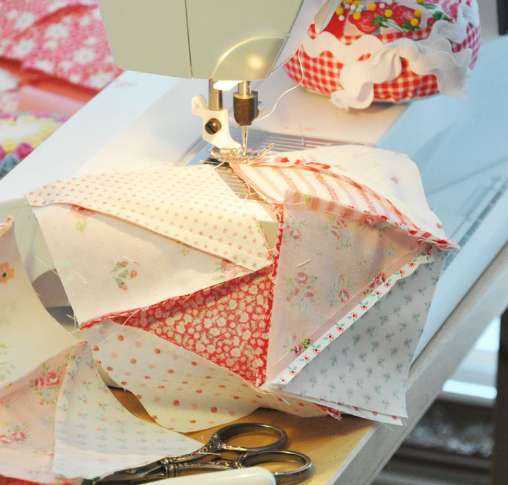 Sewing-blocks