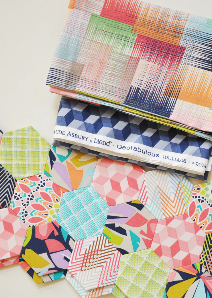 New Project: Geofabulous by Maude Asbury for Blend {& Tool Storage}