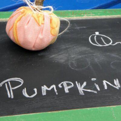 World´s Easiest Pumpkins {Sewing with Children}