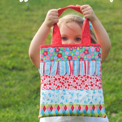 Ruffle Girl Tote Bag – Lovebirds Fabric