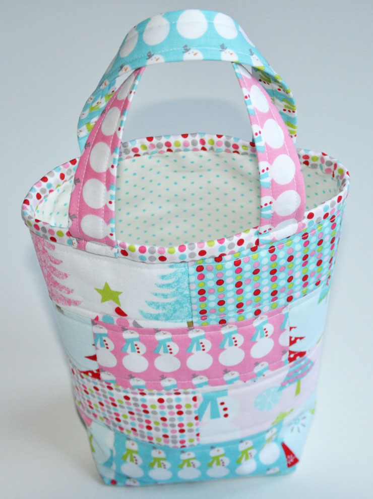 Last-Minute Gift Tutorial: Patchwork Tote