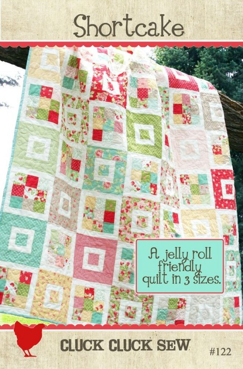 Cluck Cluck Sew Shortcake Cover