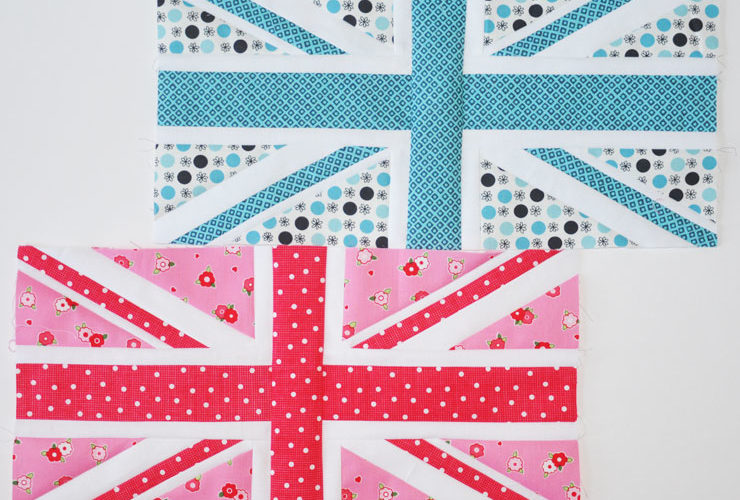 Last Bee Blocks {Union Jack}