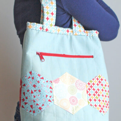 the Pepper tote {Free Pattern}