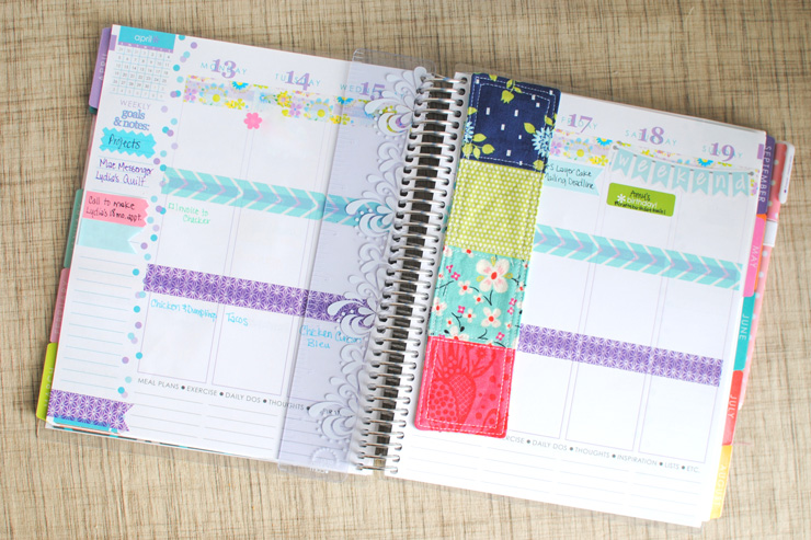 Magnetic Planner Bookmark {Tutorial} & Book Suggestion Request