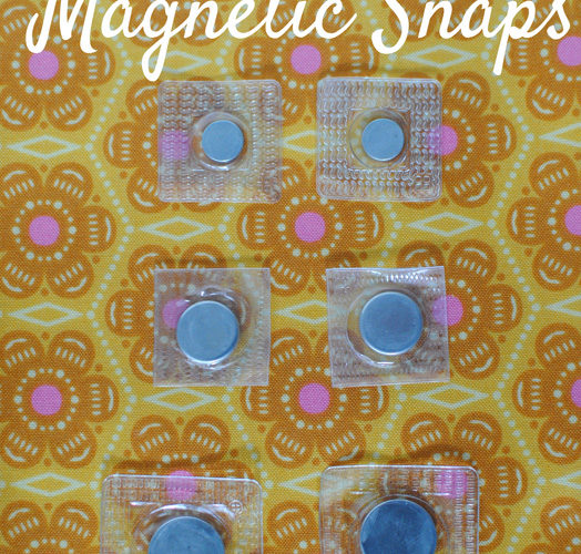Bags for Quilters: Sew-In Magnets