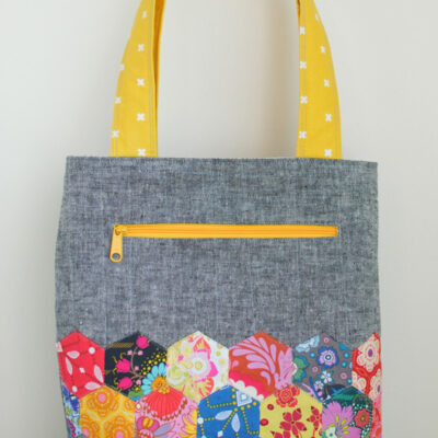 The Pepper Tote :: Turned instead of Bound