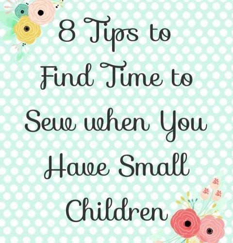 Tips to Find Time to Sew