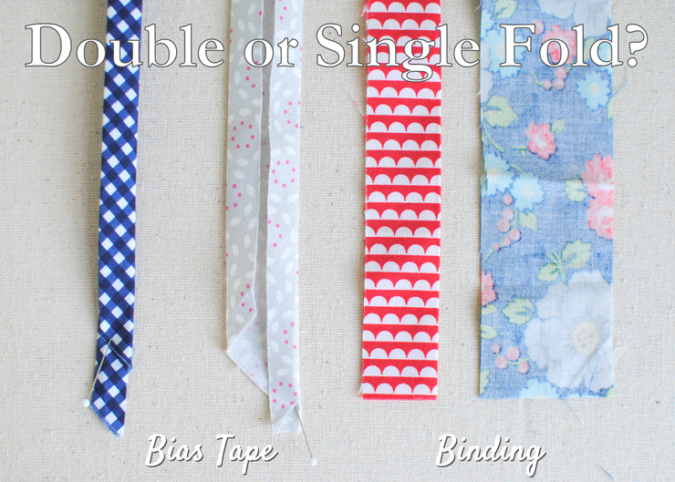 Clover & Violet — The Difference Between Single Fold and Double ... : quilt binding bias tape - Adamdwight.com