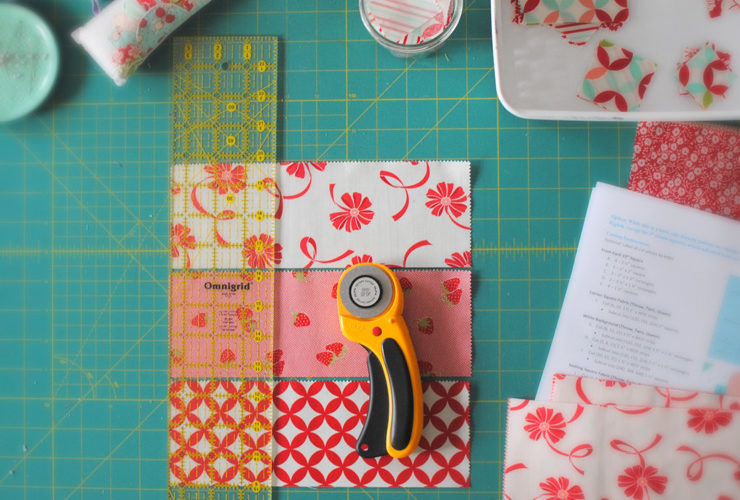Glisten Quilt Along :: Cutting