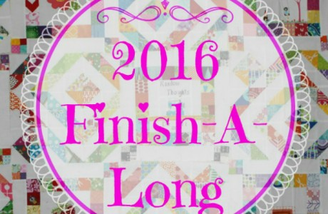 Finish-A-Long Q2 :: Finishes Link Up