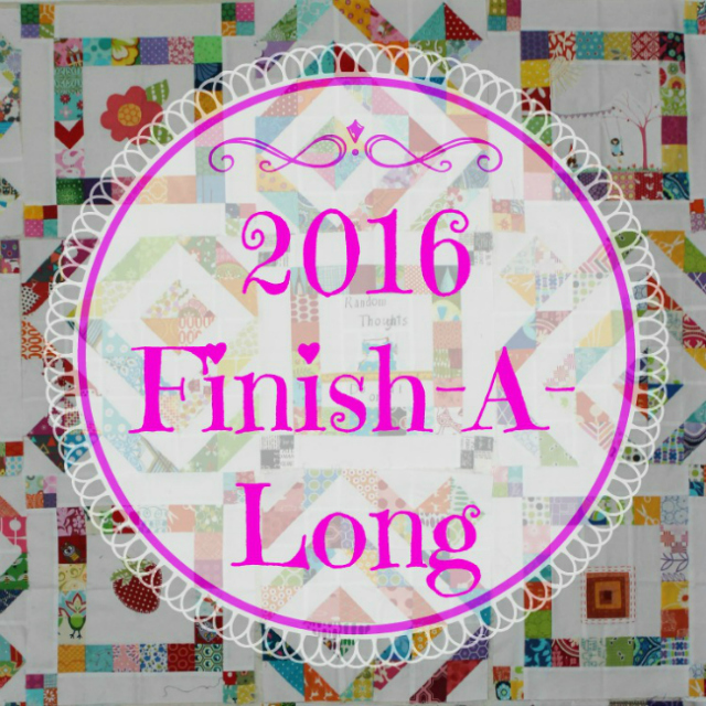 Finish-A-Long Q4 Finishes