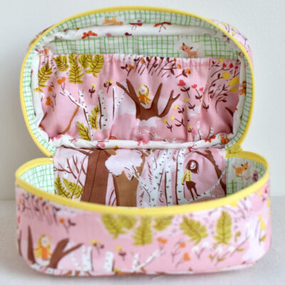 Add a Gathered Pocket to the Tiny Box Zippy
