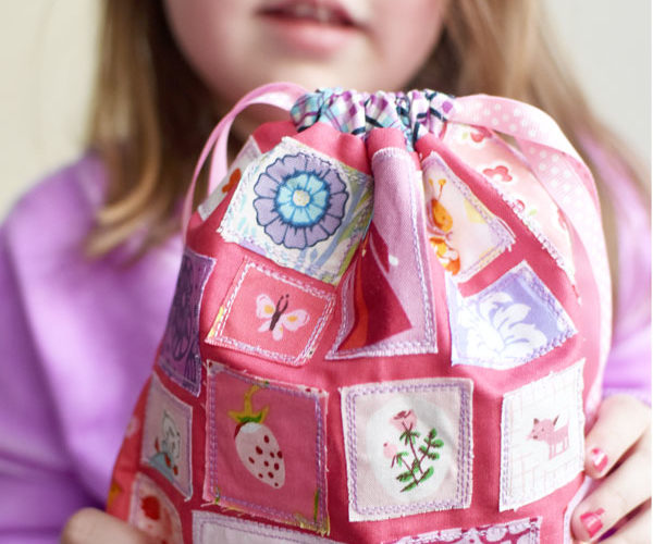 Ticker Tape Projects {Sewing with Children}