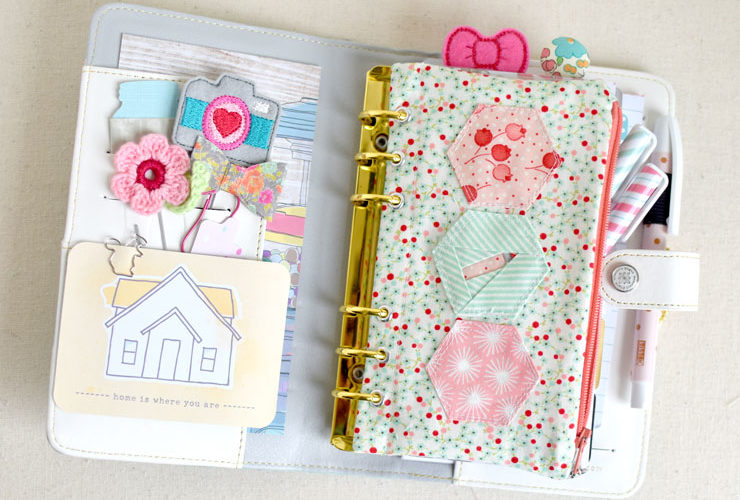 Dream Big Pencil Pouch {Tiny Toffee Blog Hop}