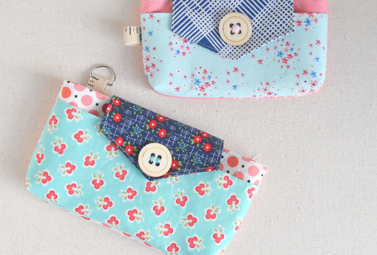 The Phoebe Phone & ID Case {Free Pattern}