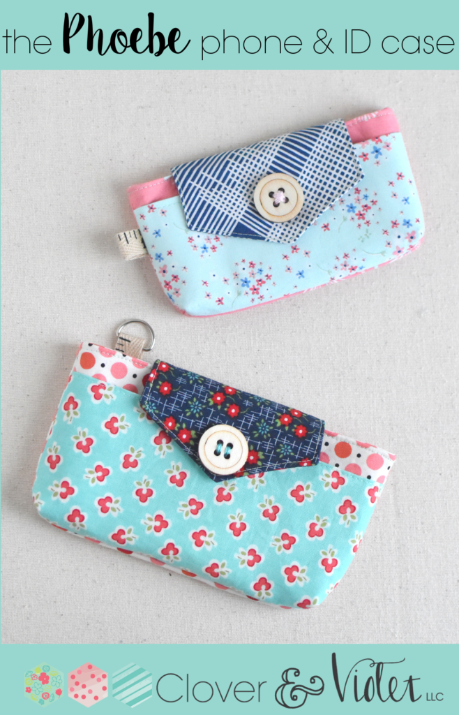 Free PDF Pattern :: The Phoebe phone & ID case