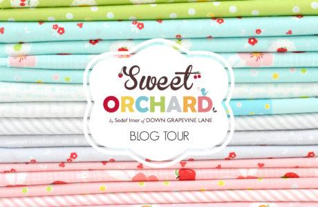 Sock Knitting Bag :: Sweet Orchard Blog Hop