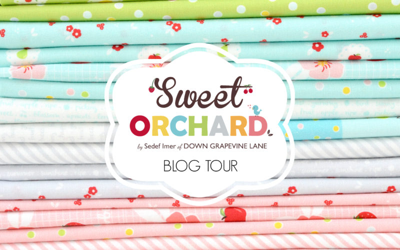 Sock Knitting Bag :: Sweet Orchard Blog Hop