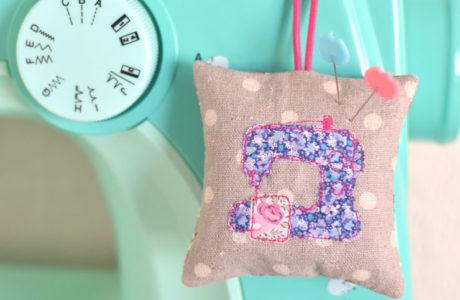 Sewing Machine Pincushion :: Sew Illustrated Blog Tour