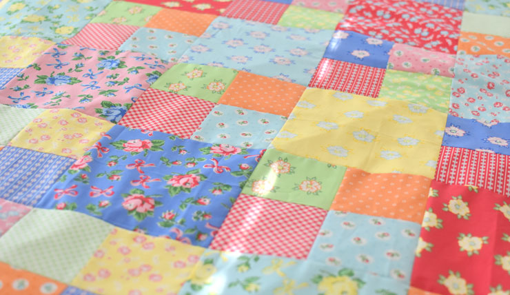 Take Along Quilt :: First Blush Blog Hop