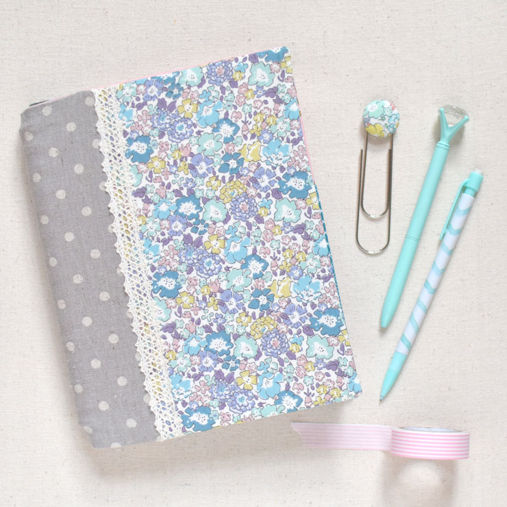 Notebook Slipcover with Pen Pocket {Tutorial}